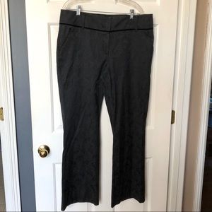 NY & Co Black Wide Leg Women's Slacks